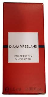 <b>DIANA VREELAND Simply Divine</b> Eau De Parfum 1.5ml Fragrance ...