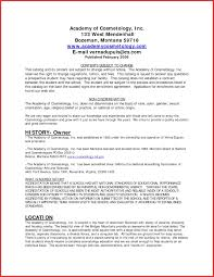 Cosmetologist Resume Template New 30 Best Cosmetology Resumes Free