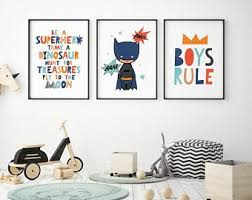Magical, meaningful items you can't find anywhere else. Boys Wall Decor Etsy