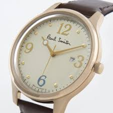 paul smith men s off white city classic watch in white for men gallery