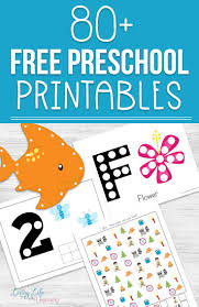 Free Preschool Printables Printable Counting Activities For