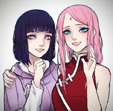 My Hinata Uzumaki and Sakura Uchiha Fanart : Naruto