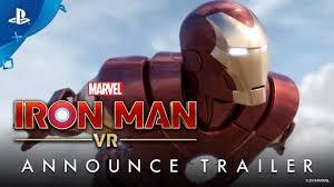 Marvel's Iron Man VR – Announce Trailer | PS VR - YouTube