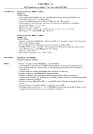 Medical Office Receptionist Resume Samples Velvet Jobs Front