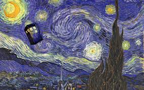 1920x1200 doctor who vincent van gogh tardis wallpapers hd desktop and