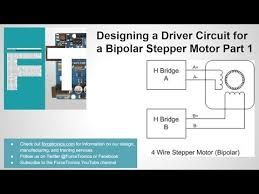 designing a driver circuit for a bipolar stepper motor part 1