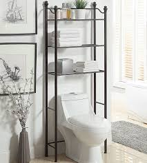 Black Over The Toilet Storage Cabinet | Toilet Etagere | Etagere Bathroom