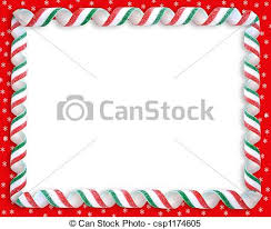 christmas candy border. Perfect Candy Christmas Candy Border  Csp1174605 Throughout H