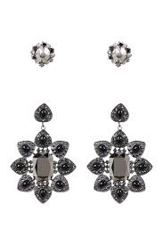 image of free press extra large chandelier earrings set of 2