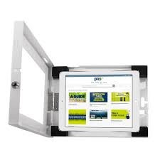 ipad wall mount enclosure plex display