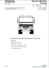 volvo trucks fl7 fl10 fl12 wiring diagram manual pdf repair enlarge