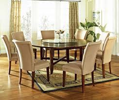 large round kitchen table and chairs attractive elegant dining for 8 people room modern within 11