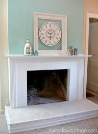 before and after fireplace makeovers surrounds facade diy