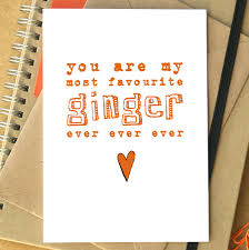 My Are Ginger Favourite Most Ever 'you Ever' Card