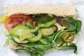 subway veggie delight
