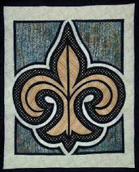Fleur-de-Lis Quilt Pattern by Another by Anita at KayeWood.com &  Adamdwight.com