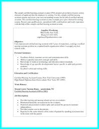 Certified Nursing Assistant Certification Objective For Certified