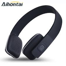 bose bluetooth headset. aihontai original lc-8600 bluetooth headset stereo headphone wireless earbuds hifi bass earpod bose