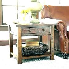 coffee table with baskets tables storage end nightstand wicker side basket e for under wi