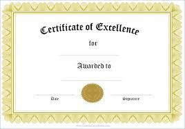 Printable Awards And Certificates Business Award Certificate Template Pimpinup Com