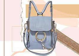 best designer backpacks for women chloe faye mini textured leather and suede backpack