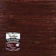 mahogany paint the home depot