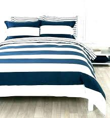 blue and white striped duvet cover ikea navy bedding