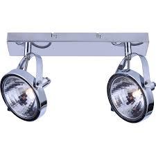 <b>Спот ARTE Lamp</b> ALIENO <b>A4506PL</b>-<b>2CC</b> хром купить по цене руб ...