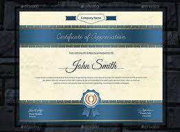 Certificate Template Photoshop 20 Professional Certificate Template Psd Indesign And Eps Format