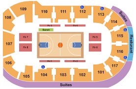 First Arena Seating Chart Elmira