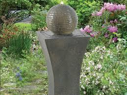 Modern Zen SolaronDemand Outdoor Fountain  HayneedleSolar Garden Fountain