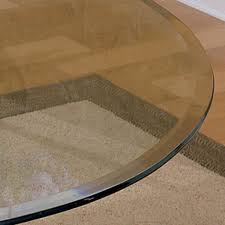 new beveled glass table top for your modern home decor pics with extraordinary round beveled glass table top inch edge bevelled