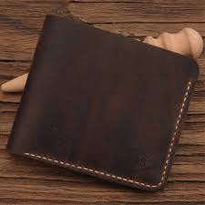 men s leather wallet personalized