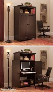 armoire office desk. organize your multipurpose space with a computer armoire like this one the new branson gives you need for functional home office desk n