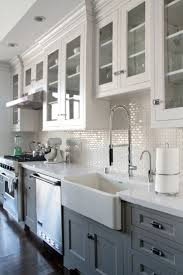 White Kitchen Cabinet Designs 25 Best Ideas About Gray Kitchen Cabinets On Pinterest Grey