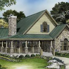 house plan small stone cabin plans house plans plan 46015hc large loft with full bath cottages