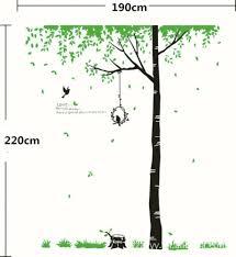 huge removable tree bird vinyl art