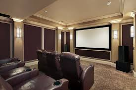 theater room ideas on a budget brown wood book shelves for flooring stand lamp decor ideas white leather sofa sets living room lighting design