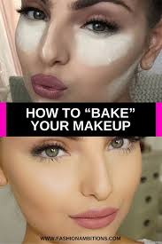 powder can be great to help set makeup and act as a highlighter but if you put on too much it can dry out your makeup too much and lead to s