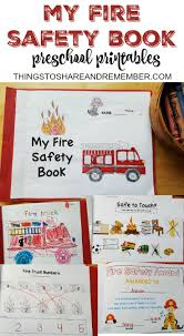 best fire safety training ideas fire safety preschool fire safety booklet printables