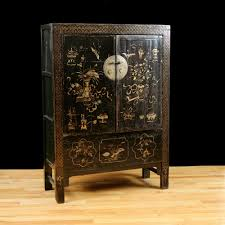 oriental furniture perth. Antique Chinese Qing Cabinet With Original Polychrome \u0026 Lacquer - Oriental Furniture Perth H