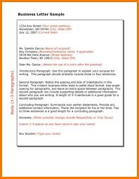 6 Business Letter Template Quotation Formats