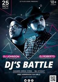 Free Party Flyer Templates Download Djs Battle Psd Flyer Template Free Psd Flyer