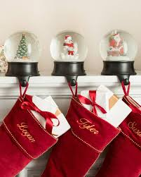 ... Snow Globe Stocking Holder Alt ...