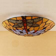 colorful dragonfly style decorative ceiling lights