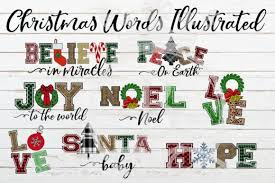 794 x 646 jpeg 43 кб. Christmas Words Ilustrated Graphic By Bellauniqueprintique Creative Fabrica In 2020 Christmas Words Free Clip Art Graphic Illustration