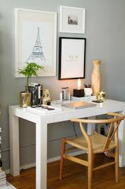 west elm home office. how to style the west elm parsons desk home office