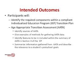 transition plan examples processes and practices for postsecondary transition planning ppt