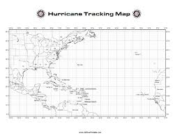 Hurricane Tracking Chart Hurricane Tracking Map Free Printable Allfreeprintable Com