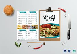 free food menu templates 36 food menu templates free sample example format download